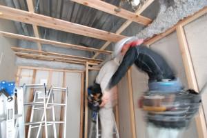 壁、天井の施工